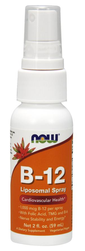Now Foods - Vitamin B-12 Liposomal 60ml Spray