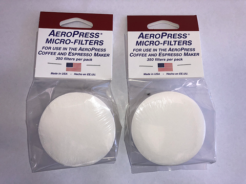 Aerobie Aeropress Filters, GENUINE, TWIN PACK 700 filters Coffee Maker