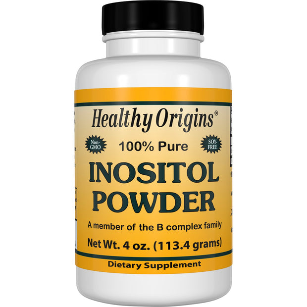 Healthy Origins - INOSITOL POWDER, 4 Sizes