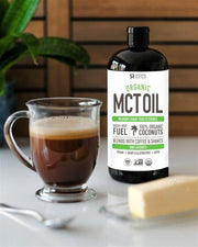 Sports Research - 100% Organic MCT Oil, 946ml (32 oz)