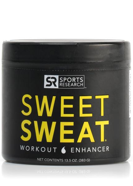Sports Research - Sweet Sweat XL Jar, Workout Enhancer, 383g (13.5 oz)