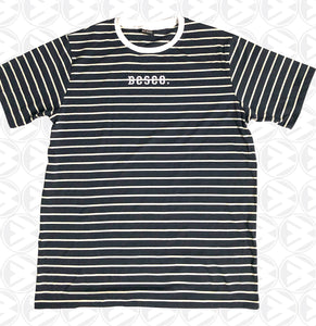 Blue & White Stripe Tee //