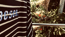 Load image into Gallery viewer, Blue & White Stripe Tee //