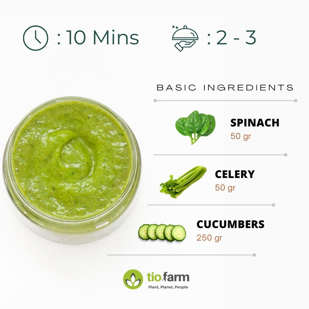 Easy Simple Organic Green Smoothie