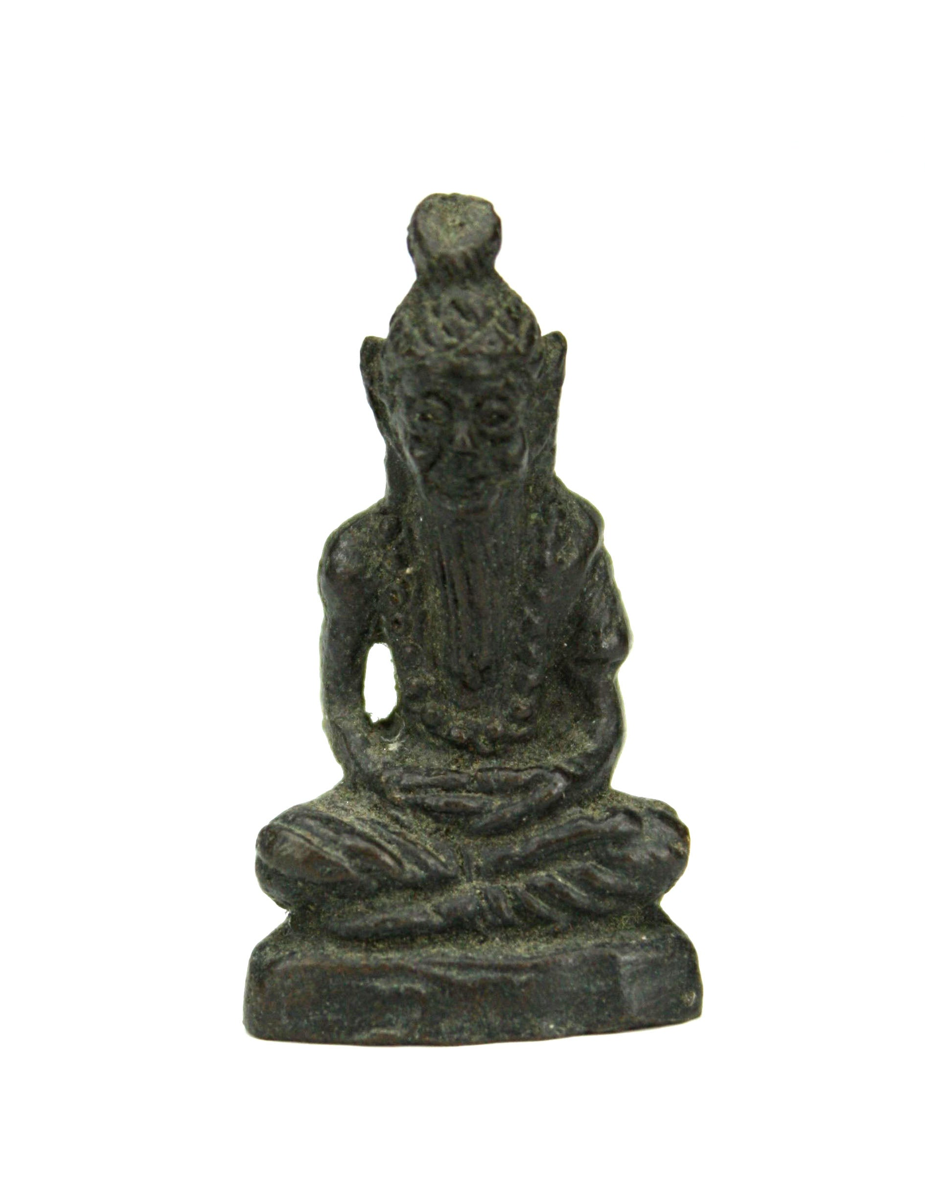 Holy Man Buddhist and Hindu Votive Amulet - 3.7cm high, Product Code GS. Statue - farangshop-co