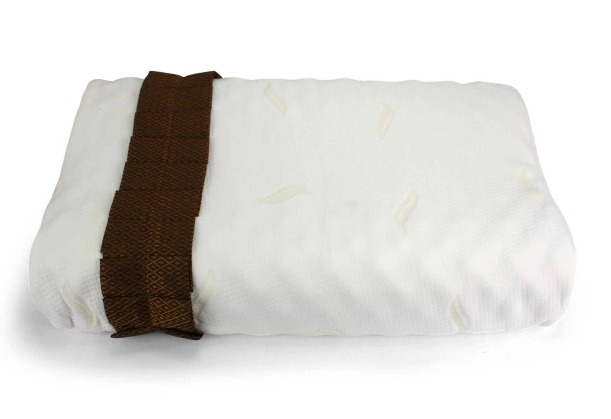 Thai natural latex herbal pillow, 60cm x 36cm x 13cm. - farangshop-co