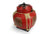Rice seed box - Large Spherical Box, 34cm high, Lanna style, Red - farangshop-co