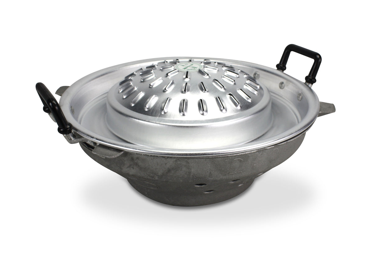 Traditional Metal Thai, Laos, Korean Barbecue: 2 sizes: 30cm, 40cm. - farangshop-co