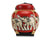 Rice seed box - Large Spherical Box, 34cm high, Elephants, Red - farangshop-co
