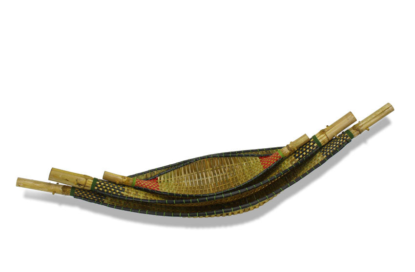 Small Thai Bamboo Hammock Decorative Trays - 3 sizes - farangshop-co