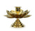 Thai Brass Flower design candle holders - 2 sizes - farangshop-co