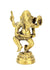 Medium Brass Metal Standing - Crawling Ganesh Statues - Amulets, 6 - 7cm high, Selection - farangshop-co