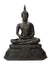 Thai Bronze Metal Seated Buddha Statue, Approx 40cm high, CM6050 - farangshop-co