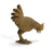 Teak Thai carving - Chicken - farangshop-co