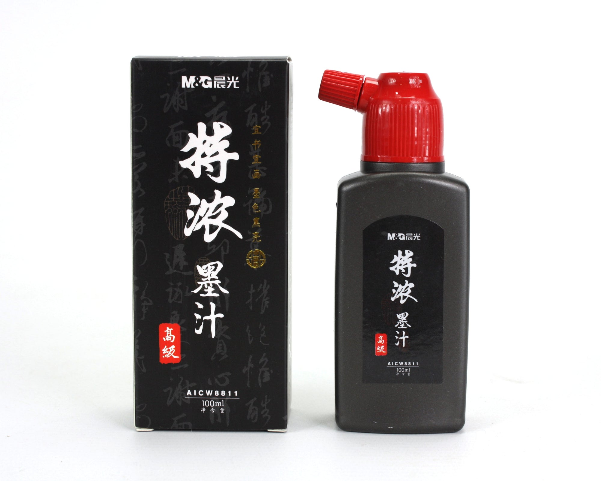 Chinese sumi-e Calligraphy Drawing Ink, Black, AICW8811, from M&G - farangshop-co