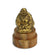 Chinese Happy Buddha Amulet, mounted on wood - Choice of designs - farangshop-co