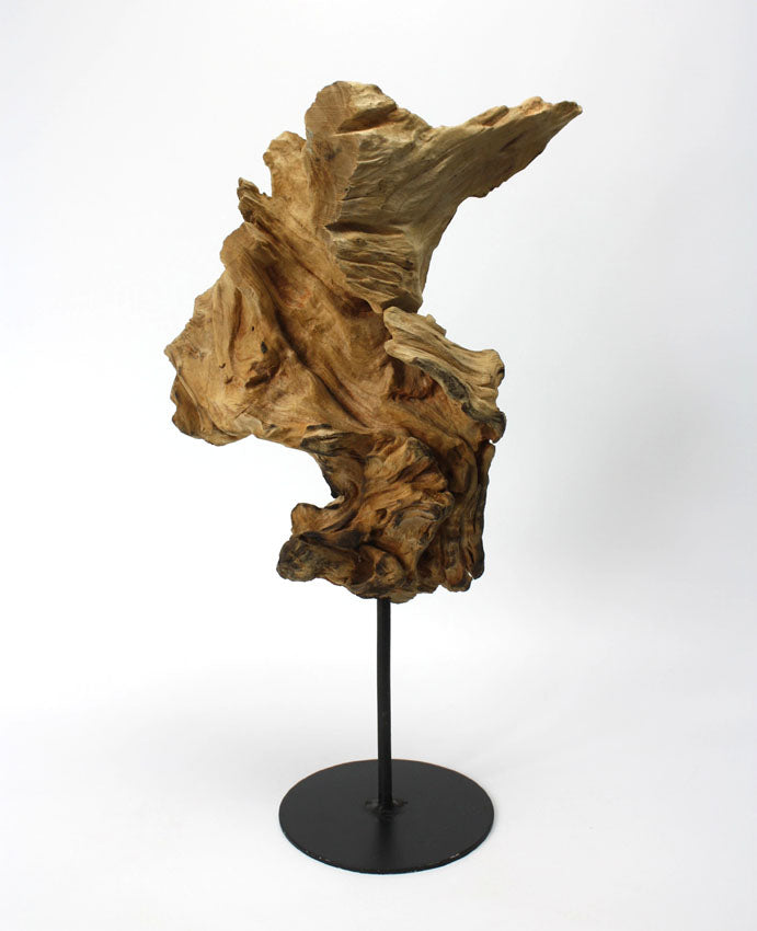 Driftwood sculpture, Approx 42cm high, INB6 - farangshop-co