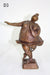Bronze effect metal sculptures - The Big Dance - farangshop-co