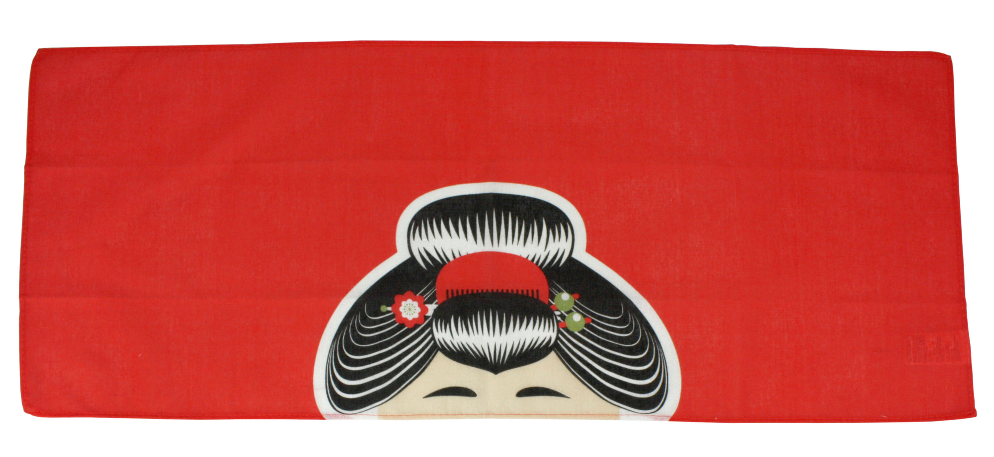 Japanese Head Covering Cloth, Machi Musume Style, 87cm x 35cm Bandana Style Cotton Hand Towel - farangshop-co