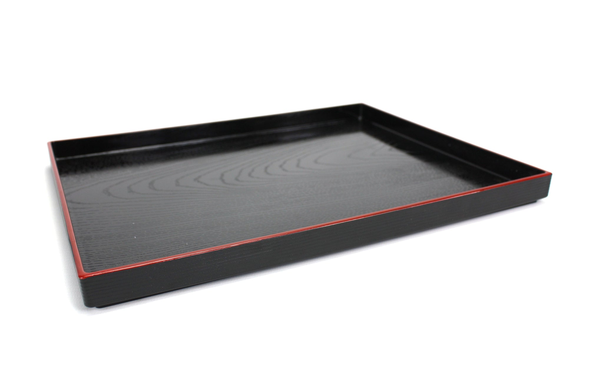 Japanese Yamanaka Lacquer Food Serving Tray, 30cm x 24cm - farangshop-co