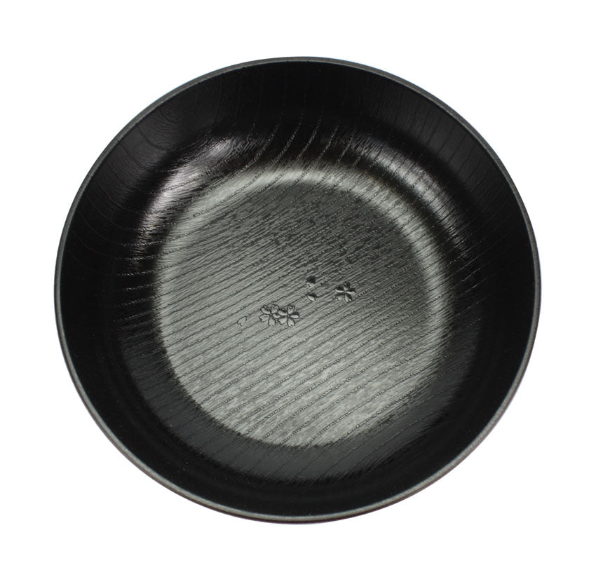 Japanese Lacquer Food Bowl, Noodle Bowl, Black and Red - farangshop-co