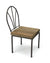 Small Iron and Wood Chair for display purposes, 14cm high - farangshop-co