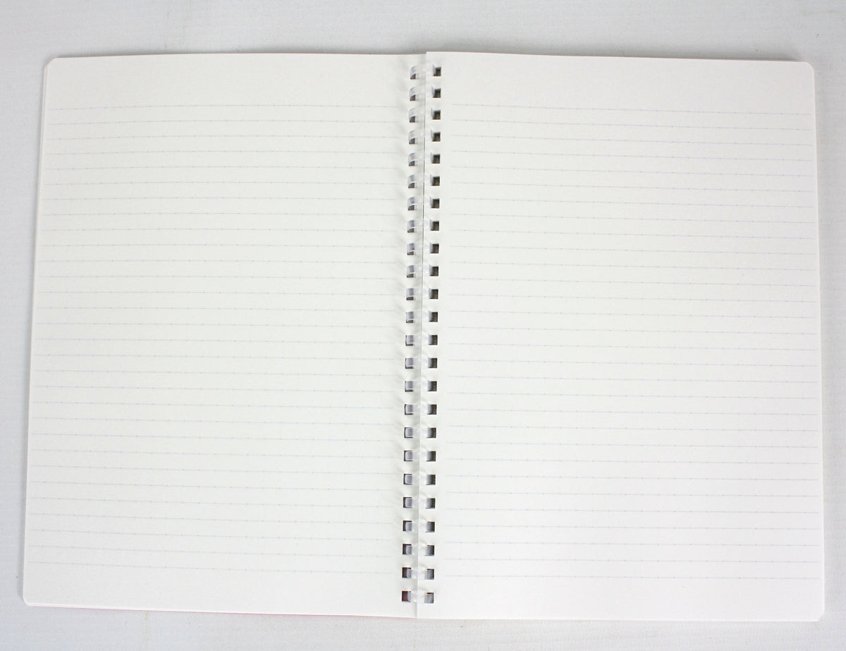 Kokuyo Soft Ring Notebook A5, 210mm x 148mm. Lined with dots. - farangshop-co