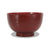 Japanese Lacquer Rice Bowl, Red Bamboo Design, 11.2cm - farangshop-co