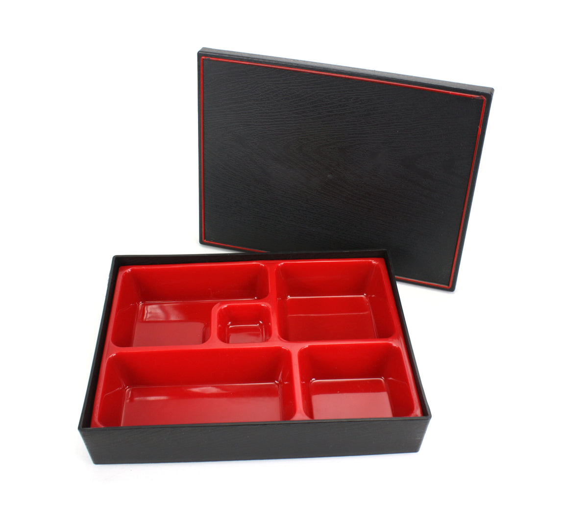 Japanese style Bento Box, Restaurant style with lid, 26.8cm x 20.7cm - farangshop-co