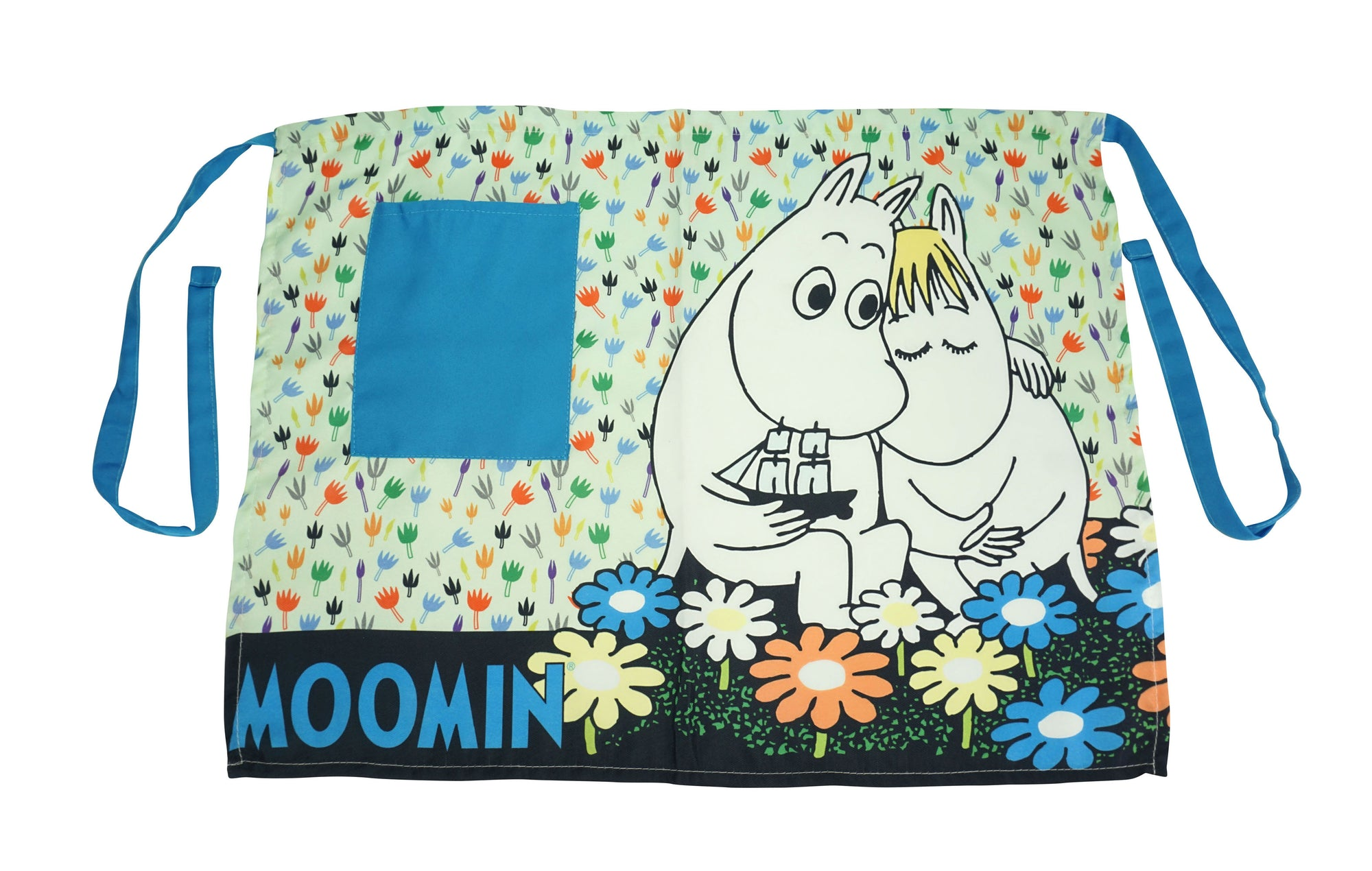 Moomin Apron; Moomintroll and Snork Maiden. - farangshop-co