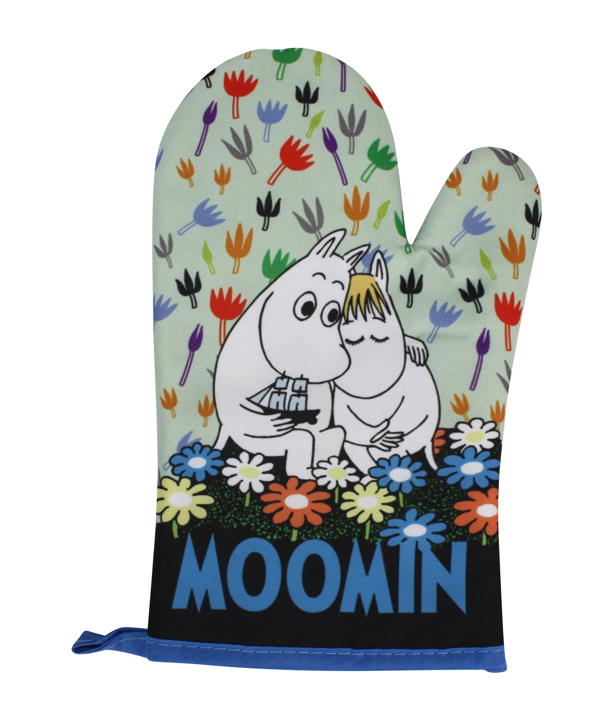 Moomin Oven Glove, Oven Mitt, Moomintroll and Snork Maiden - farangshop-co