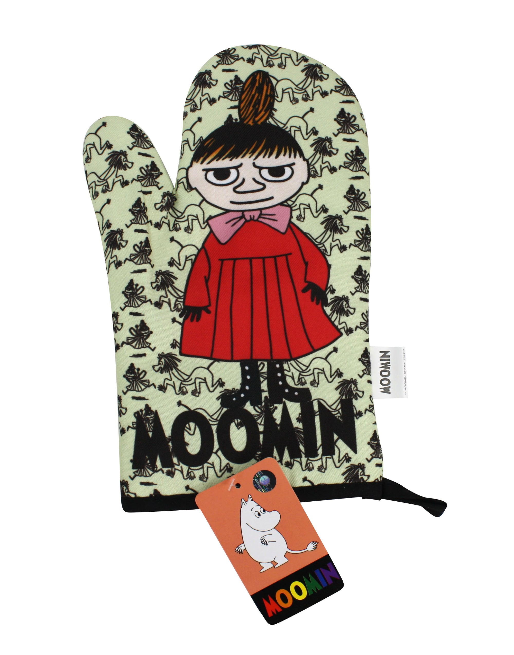 Moomin Oven Glove, Oven Mitt, Little My - farangshop-co