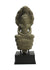 Khmer stone carving, Buddha seated on naga, 36cm - farangshop-co