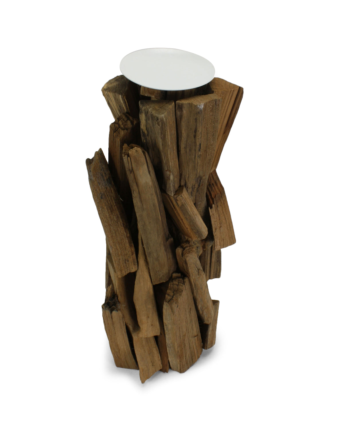 Large driftwood candle holders: 3 sizes available. - farangshop-co