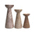 Marble candle holders, Thai - medium size - farangshop-co
