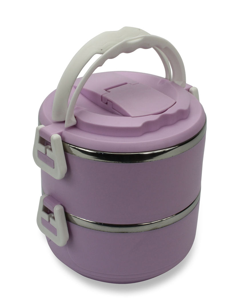 Colourful Bento Box, Lunch Box by Moshi Moshi, Double layer - Choice of Colours - farangshop-co