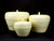 Contemporary Thai lacquerware - Yellow Apple Design - 3 Sizes - farangshop-co