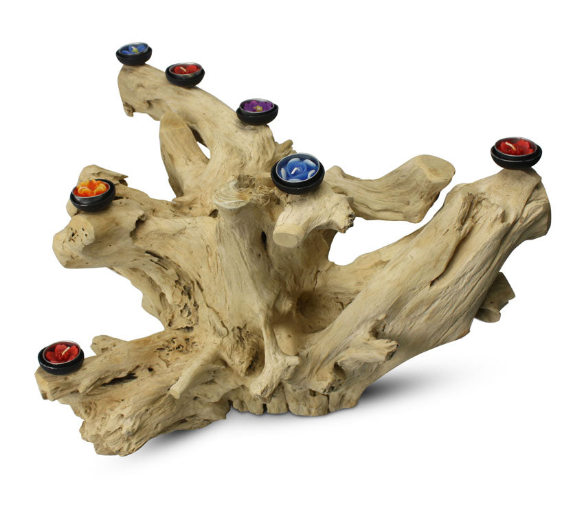 Driftwood root candle holder, Large Approx 47cm high, BT41 - farangshop-co