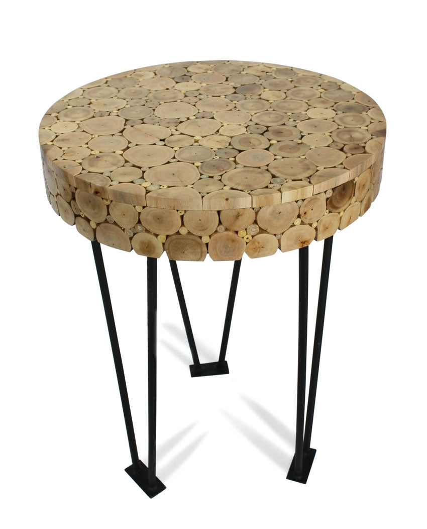 Thai Side Table, 58cm high - farangshop-co