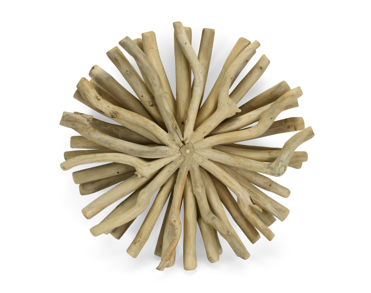 Thai driftwood wall decoration, 40cm, Model 20WE - farangshop-co
