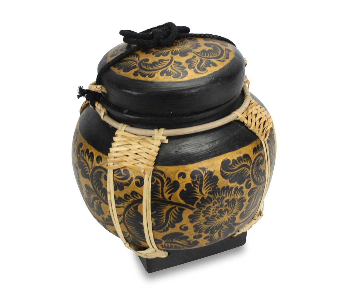Rice seed box - Large Spherical Box, 23cm high, BGR1 - farangshop-co