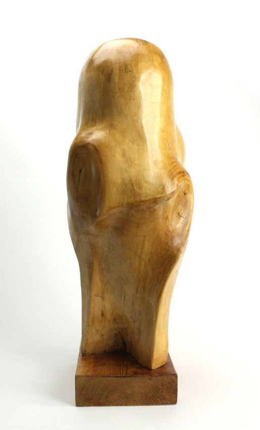 Wood sculpture - Inner Strength - farangshop-co