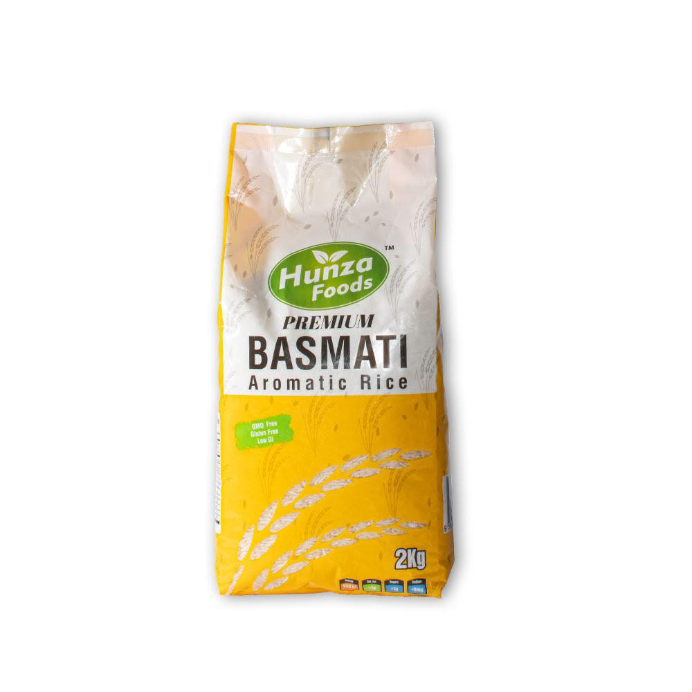 Buy online Basmati Rice 2 kg x 6 Packs in Australia