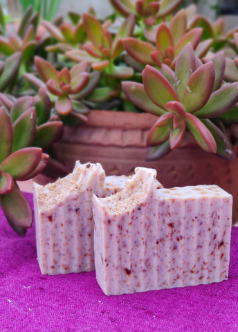 Banana Puree with a Sweet Rose-Geranium Fragrance Soap (BAN-ROS-GER)