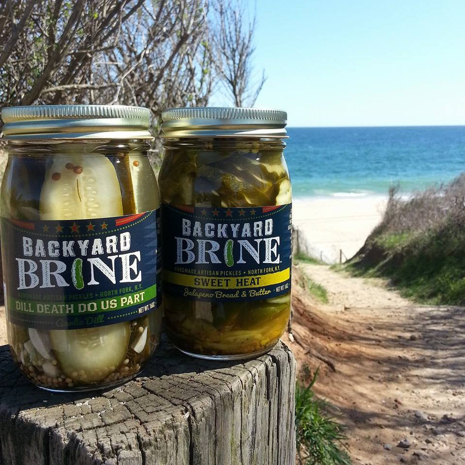 Backyard Brine Summer Pickles