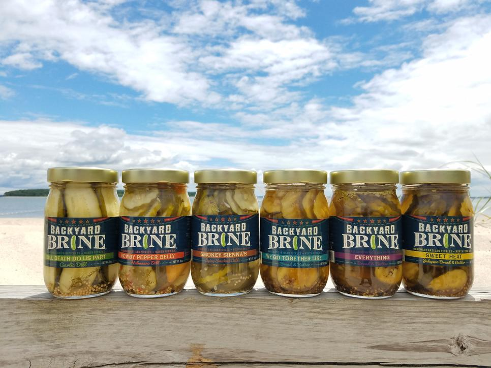 Backyard Brine Top Six Flavors
