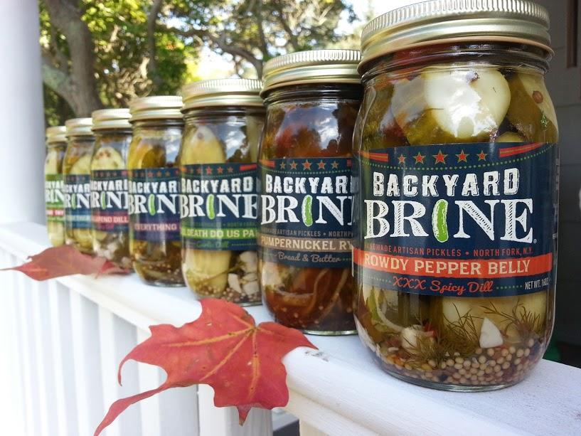 Backyard Brine Autumn Pickles