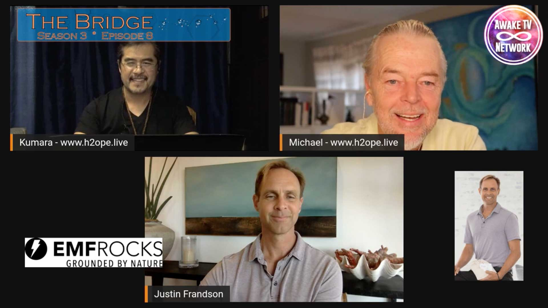 The Bridge Podcast - Awake TV Network with Guest Justin Frandson