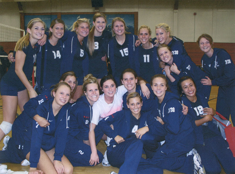 Newport Harbor Girls Volleyball State Champions 2010