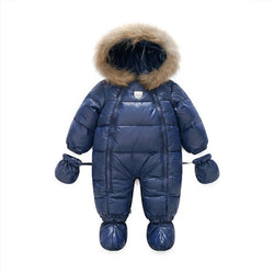 Winter Baby Down Jacket Baby Thickened Jumpsuit Baby Sleeping Bags